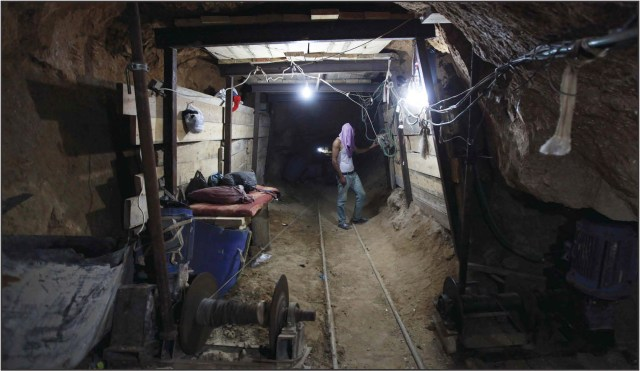 Hamas built tunnels to smuggle weapons under the Philadelphi Route from Egypt to the Gaza Strip.In recent years it has also dug attack tunnels from Gaza into Israel.