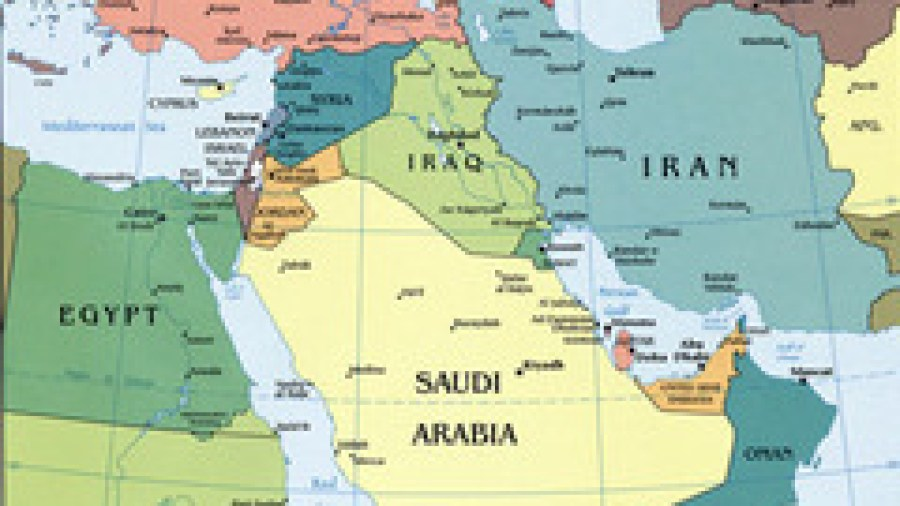 How the Middle East Map Changed in 2013