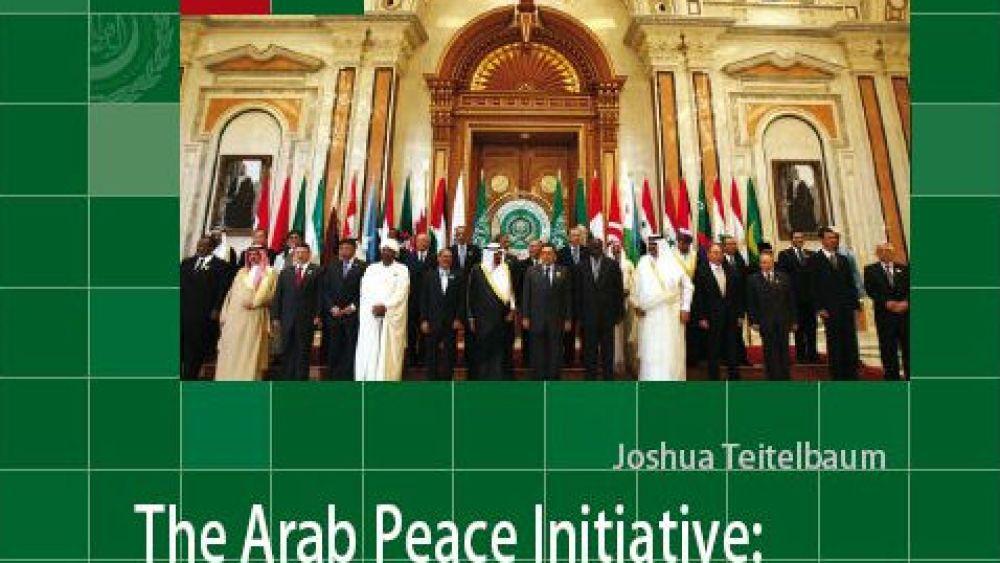 The Arab Peace Initiative: A Primer and Future Prospects