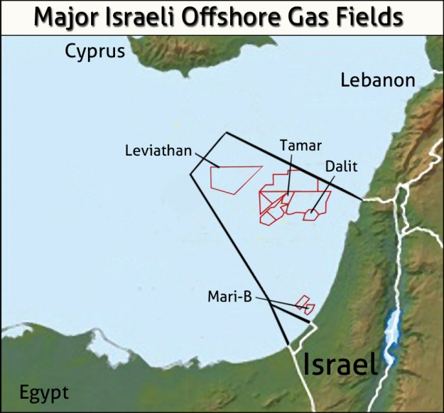 The Geopolitics of Israel's Offshore Gas Reserves
