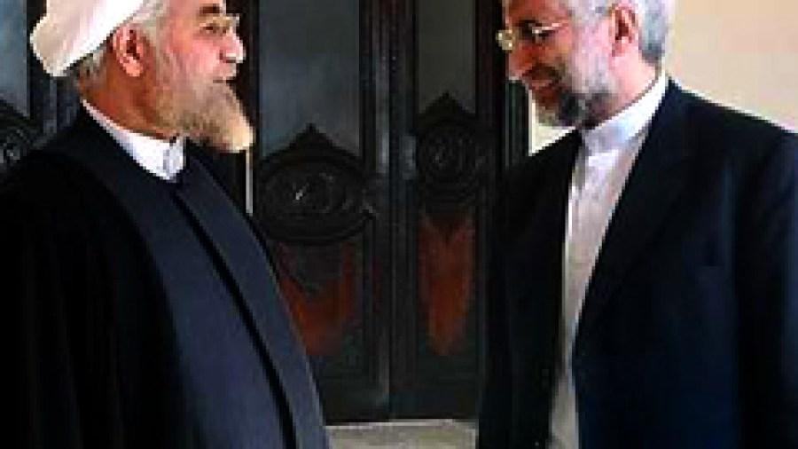 Rowhani's and Jalili's Election Propaganda