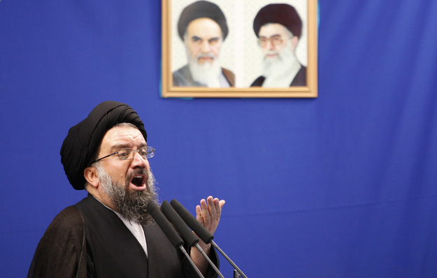 """Iran has long-range missiles that can reach 1,500 kilometers....The Supreme Leader maintained that 'every combatant Palestinian group that fights the Zionist regime will receive the support of the Iranian regime.'"""