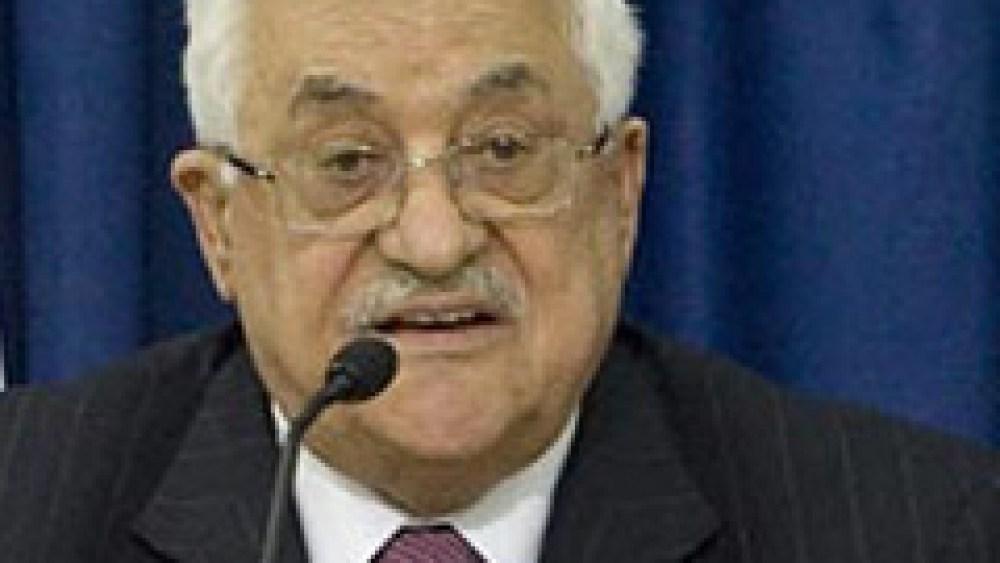 Abbas Uses Fatah Speech to Reject U.S. Plan