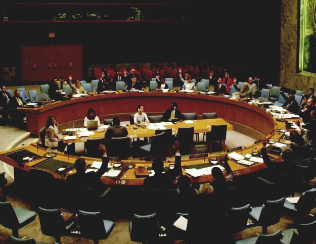 The United Nations Security Council in session, May 23, 2002