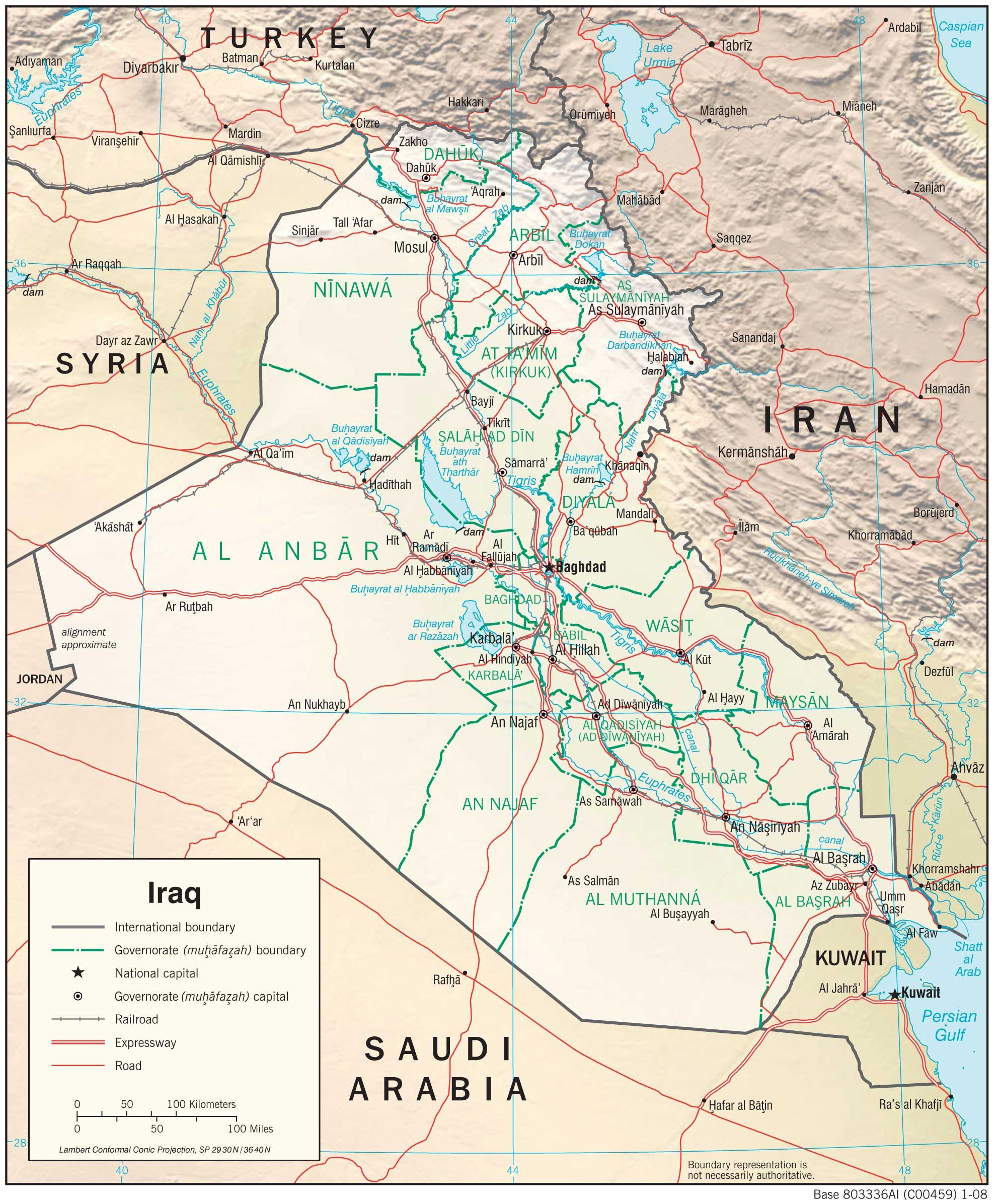 Jihadists Are On The March In Iraq Is The Fall Of Mosul In Iraq - Qamishli map