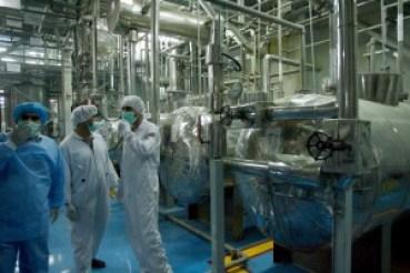 IAEA inspectors at the Isfahan uranium conversion facility