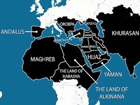 Isis releases map of 5-year plan to spread from Spain to China  -  The Structure of the Islamic State (ISIS)