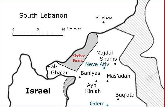 Shebaa Farms - The Significance of the First Hizbullah Attack against Israeli Forces since 2006