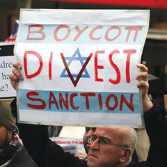 Extremely active in England, BDS has anti-semitic overtones