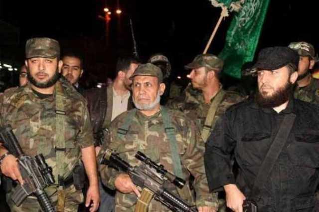 Al Zahar in the center
