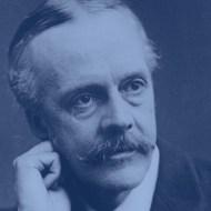 British Foreign Secretary Arthur James Balfour