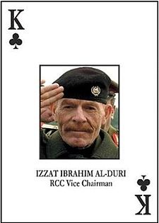 """""""King of Clubs"""" Al-Douri, once one of the U.S. Army's most wanted"""