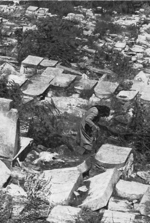 After the Six-Day War many Jewish families came to the Mount of Olives to search for their loved ones' graves among the destroyed graves and headstones. The Israeli Religious Affairs Ministry documented these moments.