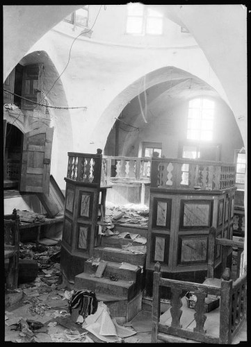 Avraham Avinu Synagogue after 1929 Pogrom