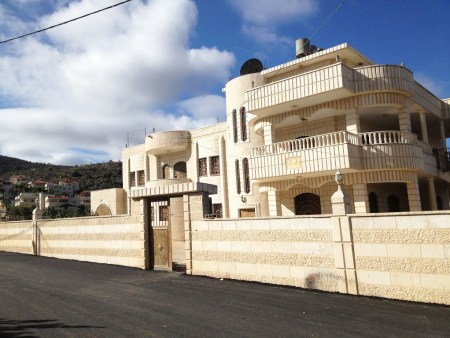 Home of Taiseer Alkam in Turmus Aya