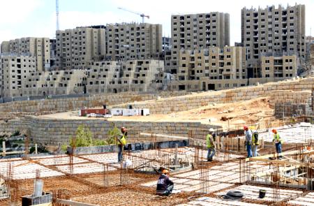 The new city of Rawabi