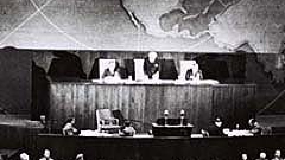 10 Things to Know about the UN Partition Vote of November 29, 1947