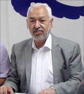 Tunisian Islamist leader Rachid Ghannouchi