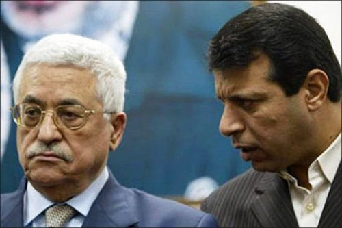 Mahmoud Abbas and Muhammed Dahlan in the past