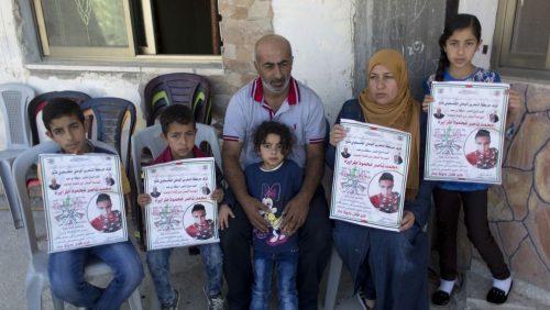The family of Mohammed Tarayreh