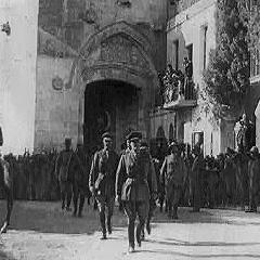 General Allenby entering Jerusalem December 11, 1917.