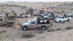Vehicles and arms provided to the Sinai Bedouins by the Egyptian army