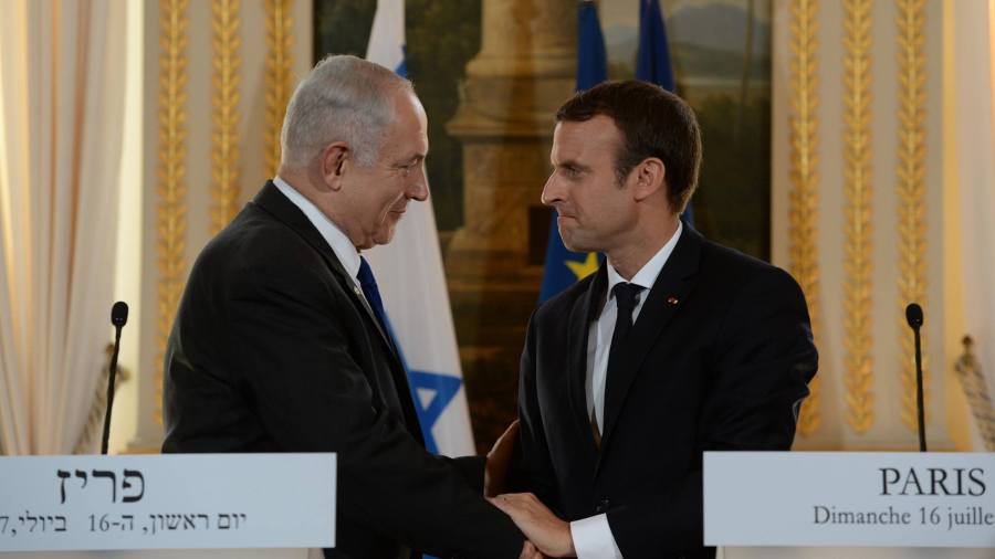 Netanyahu in Paris: The Holocaust, Friendships, and Disagreements