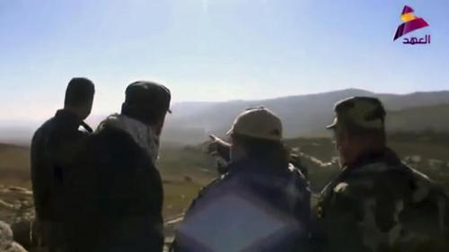 Qais al-Khazali visits Israel-Lebanon border