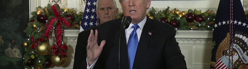 Trump's Speech Recognizing Jerusalem: What It Says and What It Doesn't Say