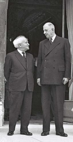 Ben-Gurion and Charles de Gaulle