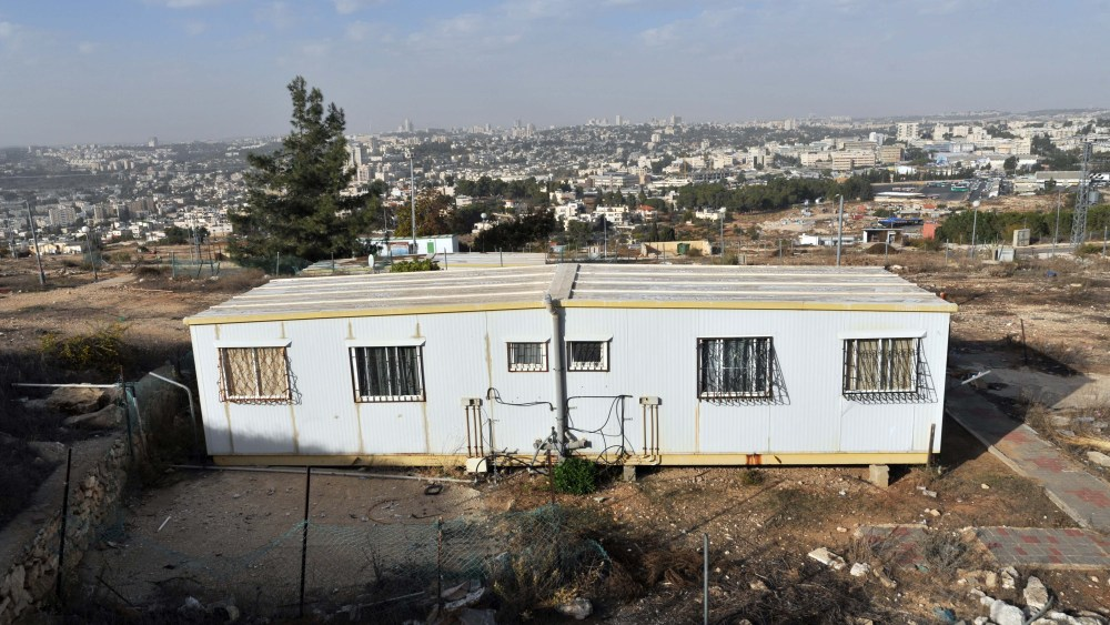 The End of Building Freezes in the Jerusalem Area