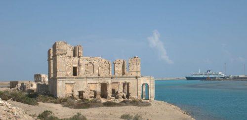 Suakin on the coast of Sudan
