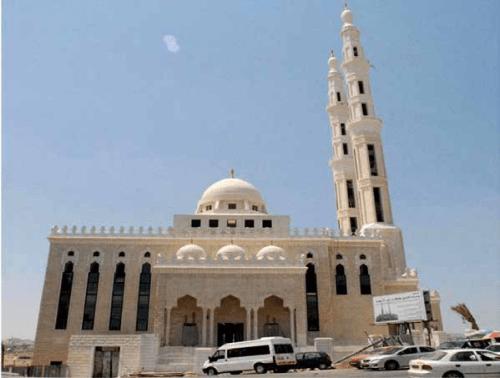 The Khalifa bin Zayed Mosque in al-Azariya