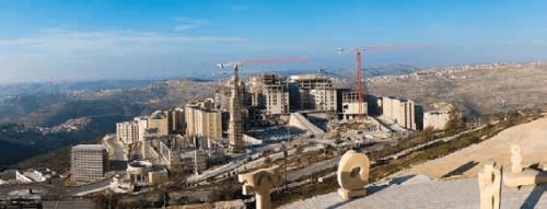 Rawabi, a planned Palestinian city