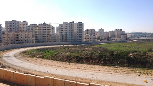 A view of the neighborhood of Semiramis-Kafr Akab