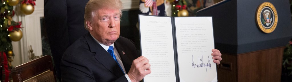 Is President Trump Right to Recognize Jerusalem as Israel's Capital?