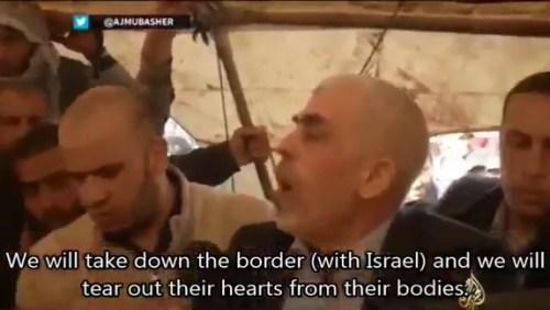Hamas leader, terrorist Yihya Sinwar, said on Friday at the Gaza-Israel border