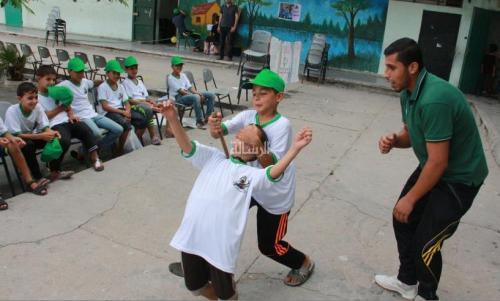 """Hamas """"camp activities"""" for children"""