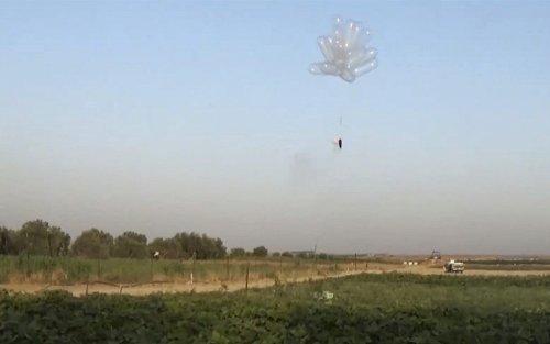 Gaza incendiary balloon