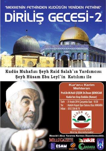 The Muhafiz of Jerusalem, Sheikh Raed Salah