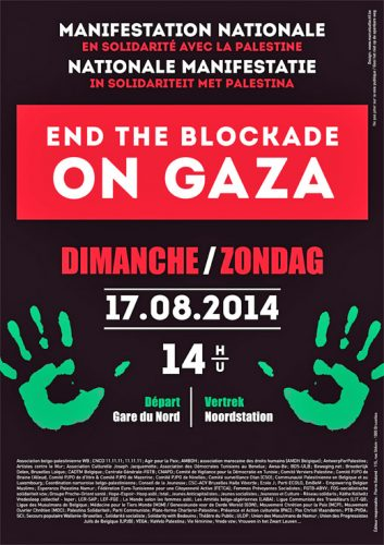 End the Blockade On Gaza