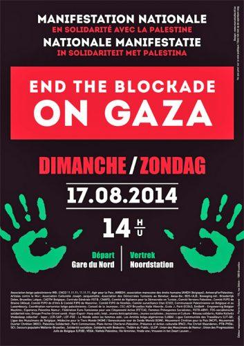 End the Blockade On Gaza