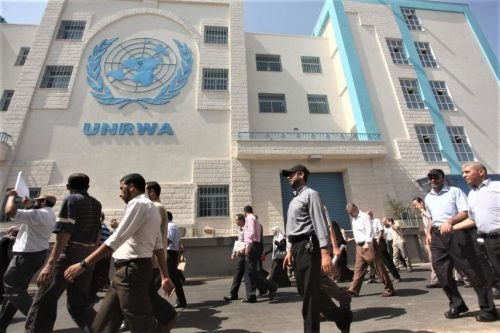 UNRWA building