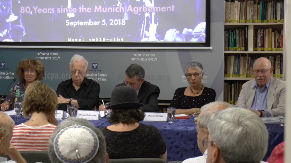 The Munich Agreement as History and Analogy – Q&A Session
