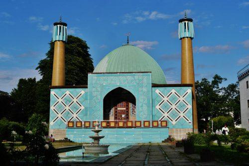 The Islamic Center in Hamburg, Germany