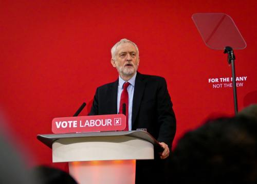 Jeremy Corbyn, Leader of the Labour Party UK