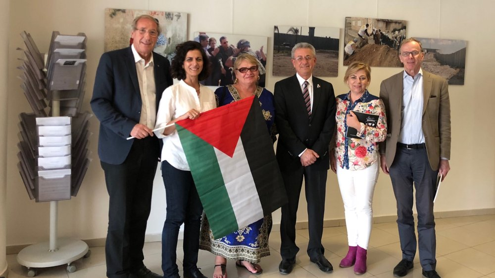 NGOs in Gaza and the West Bank Incite with European Support