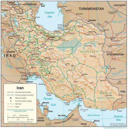 Iran-Afghanistan border