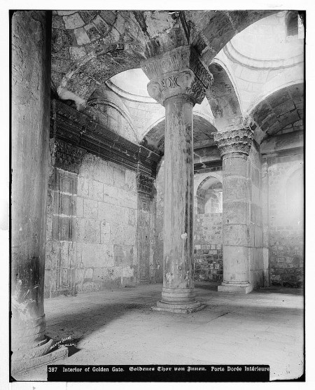 Interior chamber of the Golden Gate