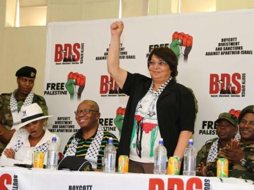 Leila Khaled in South Africa